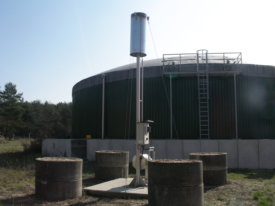 Immissionsprognose Fermenter und Fackel